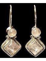 Rose Quartz Earrings