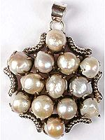 Rugged Pearl Pendant