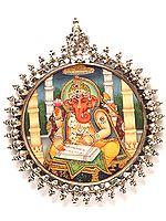 Shri Ganesha Scripting the Largest Epic in the World