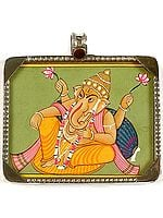 Shri Ganesha Seated in Maharaja-Lila Asana