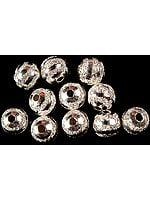 Sterling Fine Beads (Price Per Four Pieces)