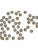 Sterling Four mm Spacers (Price Per Twenty Pieces)