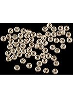 Sterling Matt Finished mm Sized Beads (Price Per Dozen)