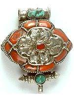 Tibetan Gau Box Pendant