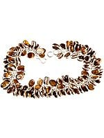 Tiger Eye Bunch Bracelet
