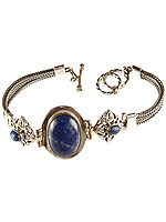 Triple Lapis Lazuli Bracelet