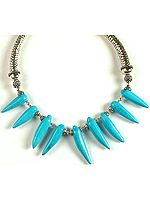 Turquoise Claw Choker