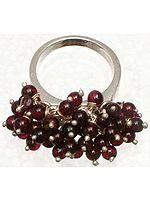 Garnet Gypsy Ring