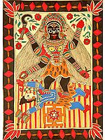 Mahavidya Tara with Yantra