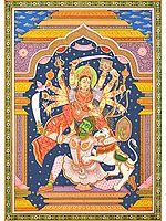 The Beauty of Anger - Mahishasuramardini Goddess Durga
