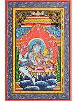 Parvati in the Lap of Shiva