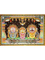 Shri Jagannatha in King's Costume (Raja Vesha)