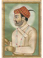 Mughal Portrait of a Hindu Brahmin
