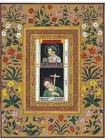 Pendant-Portrait of Jahangir with Jesus