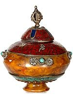 Amber Dust Ritual Bowl