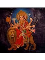 Of Beauty And Ferocity, Simhavahini Devi Durga