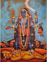 Devi Kali, The Very Picture Of Bloodlust