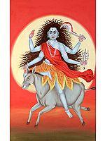 Navadurga - The Nine Forms of Goddess Durga - KALARATRI (The Seventh)