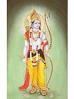 Lord Rama: A Votive Portrait