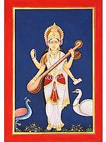 Saraswati - Goddess of Learning and Arts