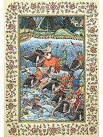 Episode from Akbar Nama