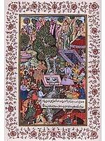 Episode From The Babur Nama