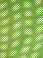 Bright Green Polka Dotted Fabric