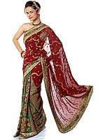 Sari with Rare Magnificence