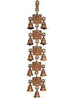 OM Ganesha Wall Hanging Bells
