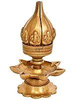Ganesha Lotus Petals Lamp