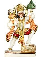 Shri Hanuman Carrying Sanjeevani Mountain