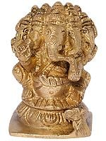 Five-Headed Seated Ganesha