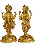 Lord Vishnu and Goddess Lakshmi
