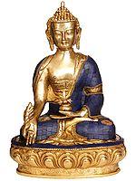 (Tibetan Buddhist Deity) Lapis Healing Buddha