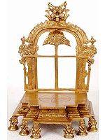 Kirtimukha Throne