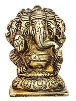 Pancha-Mukhi Ganesha (Small Statue of Five-Headed Ganapati)
