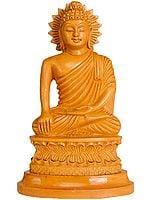 Shakyamuni Buddha in Mara-vijaya Mudra