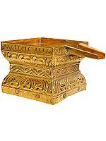 Ornamental Patra for Abhisheka