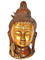 Lord Shiva Wall Hanging Mask