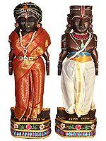 Folk Dolls of Radha Krishna