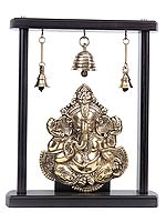 Lord Ganesha with Bells (Flat Statue)