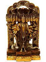 The Cosmic Magnification Of Vishnu