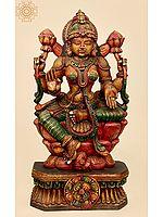 Large Size The Lotus-Seated Goddess Lakshmi