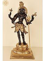 "21"" Lord Shiva as Pashupatinath | Brass Statue | Handmade | Made In India"
