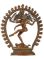 Lord Shiva as Nataraja in Cosmic Dance Mudra