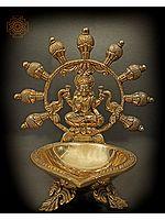 Goddess Lakshmi Big Diya