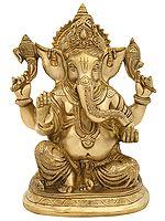 Four Armed Luxurious Ganesha