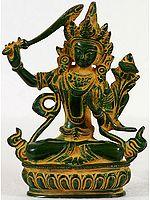 Tibetan Buddhist Deity Bodhisattva Manjushri