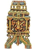 Dancing Ganesha (Wall Hanging)