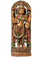 Devi Lakshmi as Padmavati (Lotus Goddess)